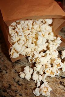 DIY Microwave popcorn.....works great!