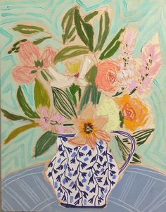 FLOWERS FOR HARRIET - 16X20 | Lulie Wallace