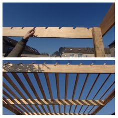 Pergola With Ceiling Fan
