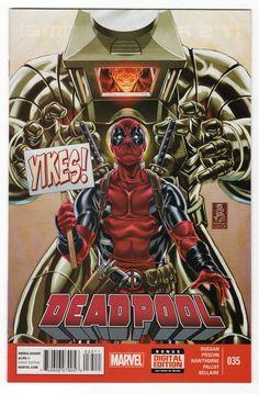 Deadpool #35 Regular Mark Brooks Cover (2014)