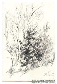S'asseoir près d'une petite forêt, à la clairière, respirer l'air parfumé des bois, et écouter les oiseaux dans les arbres, en dessinnant au crayon une petite esquisse.