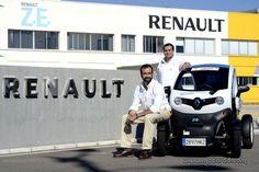 Renault Twizy, por España