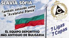 """El Slavia Sofia fue fundado en 1914, y es el Club Deportivo más antiguo de Bulgaria. Hasta la fecha ha ganado 7 Ligas y 7 Copas. El único doblete que lograron fue en 1996. También ganaron 2 Balkans Cups. El Slavia también es conocido como """"La Avalancha Blanca"""" #SlaviaSofia #Sofia #Bulgaria #Futbol #Football #Soccer #Fussball #Clubes"""
