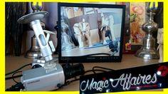 Samsung moniteur SMT-1722 Vidéo Surveillance caméras SCC-B2031P SCC-B2035P - MAISON MOBILIER BRICOLAGE EQUIPEMENT/INTERPHONE VIDEO - magic-affaires-22