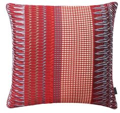 Fitzgerald  Large Square Cushion. Kaleidoscope Collection. Margo Selby. Textile Design