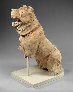 Mastiff, ca. mid-2nd millennium B.C. Mesopotamia. The Metropolitan Museum of Art, New York. Purchase, The Charles Engelhard Foundation Gift, 1989 (1989.233) #dogs