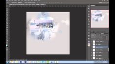 """**GREAT TUTORIALl***Anna Aspnes makes beautiful artsy templates in PSD format. Here I have """"hacked"""" the template and used those PSD layers to create something completely differe..."""