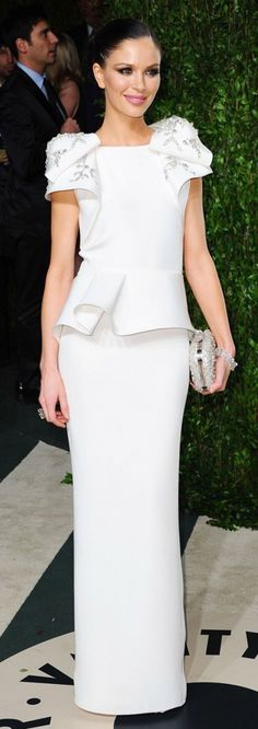 Georgina Chapman in Marchesa. Always leaves us speechless | Fashion Fighting Famine