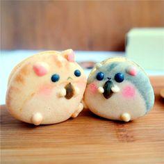 cute hamster macaron