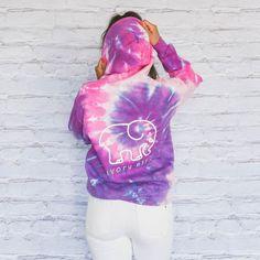7682db048 Purple Pink Tie-Dye Swirl Sweatshirt (3