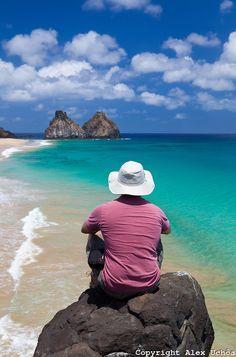 Cacimba do Padre beach, Fernando de Noronha, Pernambuco, Brazil