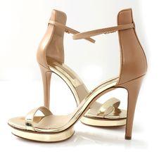 Michael Kors | Doris Platform Sandal Pale/Gold  | Marissa Collections