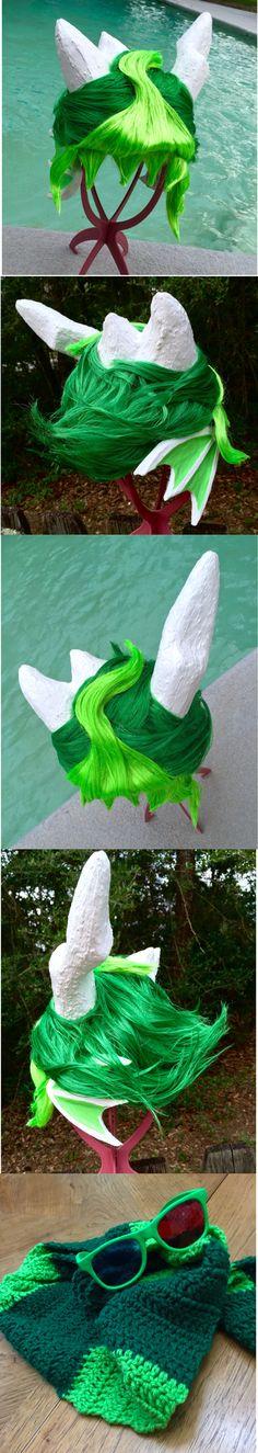 erisolsprite cosplay wig, glasses, and scarf by Lulcizzano