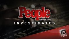 Investigation Discovery has ordered two spinoffs of its People Magazine Investigates TV shows. People Magazine Investigates: Cults premieres in early June, and People Magazine Investigates: Crimes of Fashion debuts later this year. Will you watch? Investigation Discovery, Creepy Stuff, Great Tv Shows, Discovery Channel, Tv Guide, People Magazine, Ny Times, Investigations, Documentaries