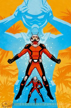 Art Vault - bear1na: Ant-Man #3 variant cover by Cliff Chiang *