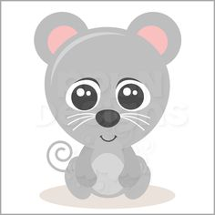 PPbN Designs - Baby Mouse (Free for Deluxe Members Only), $0.00 (http://www.ppbndesigns.com/products/baby-mouse-free-for-deluxe-members-only.html)