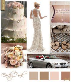 Wedding Moodboard | Earthy Pink