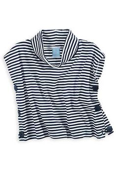 Our super-cute poncho is the ultimate layer for fall! Available in Navy/White Stripe. Sizes *bella bliss® uses the finest cottons available. For best results, lay flat to dry then fluff on low heat. Boat Girl, Preppy Style, My Style, Classic Girl, Navy And White, Bliss, Vintage Fashion, Flat, Girls