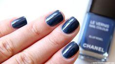 Chanel Le Vernis Nail Colour Blue Rebel (swatch)