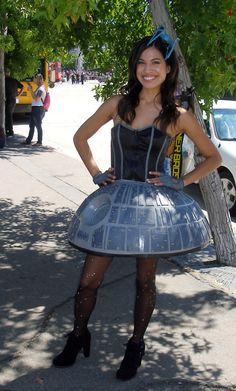Death Star dress.