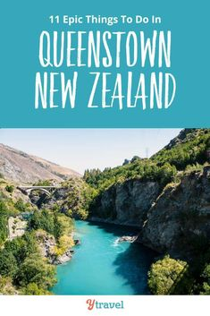 Looking to visit New Zealand? Don't miss Queenstown. Here are 11 of the best things to do in Queenstown New Zealand plus tips on hotels and information on flights and rental cars. See why Queenstown needs to be on your New Zealand itinerary! New Zealand Itinerary, New Zealand Travel, Beautiful Places To Visit, Cool Places To Visit, Queenstown New Zealand, Visit New Zealand, Family Vacation Destinations, Travel Destinations, Road Trip Hacks