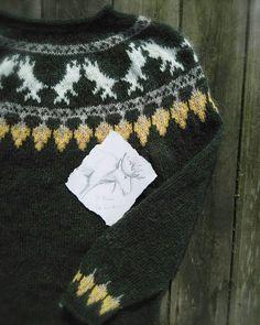 lazzy sunday strikk genser