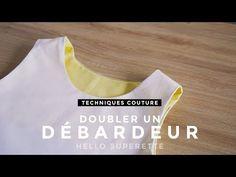 DOUBLER UN DÉBARDEUR - TUTO TECHNIQUE COUTURE - YouTube
