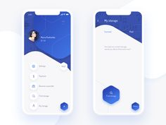 I designed UI for two Stor Apps, which connect people who have extra space in their properties with those who need a place for storage Ios App Design, Mobile Ui Design, Android App Design, Mobile Application Design, Android Ui, Interface Design, User Interface, Design Responsive, Responsive Web