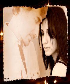 Si tienes fe en quien vive en ti, si tienes la fuerza y el amor de renuncia; ¡ámame con esa fuerza!, y volveré a darte hasta la última gota de la sangre de mis venas. Nunca podré pensar mas que en ese pensar eterno, en el bosque del horror, donde las almas insatisfechas, vagan tropezando para siempre sin final; Mientras anhelo sea siempre un calor plácido en tu pecho, que sonría en cada latido de tu corazón. J. Graña