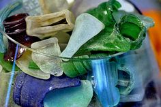 Top 10 beaches for collecting sea glass.