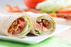 Recipe: Light and Easy BLT Wrap