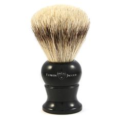 Edwin Jagger English shaving brush large imitation ebony, super badger-3EJ256 Edwin Jagger, Badger Shaving Brush, Brushes, Beauty, Blush, Paint Brushes, Beauty Illustration, Makeup Brush