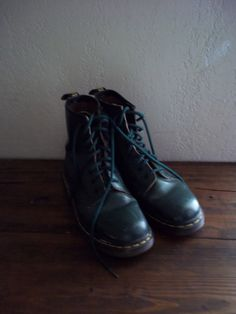 vintage doc martens boots 80s style by BasquePebble on Etsy, $45.00