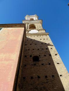 Dolcedo (IM), campanile di S. Tommaso