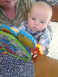 This is what learning looks like with my adorable nephew  Courtesy of @jewelvac