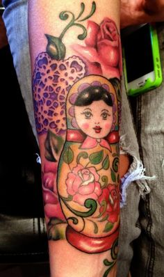 Mallory Johnstone - Russian Doll Tattoo