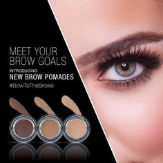 Introducing The New Ardell Brow Pomades – 3 Brow Products in 1! Sculpt, fill-in and set brows in place all day with just one product. This highly pigmented formula, glides on smooth and blends effortlessly. Available in Blonde, Medium Brown and Dark Brown.  #Ardell #ardelllashes #madamemadeline #brows #browgame #browsonfleek #powerofthebrows #instabrows #browpomades #browpencils #browpalette #ardellpro #ardellprofessional