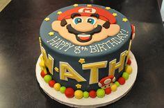 Mario Cake by Designer Cakes By April, via Flickr