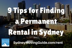 Moving to Australia Tips | Expat Life | Living Abroad | Moving Overseas |  9 Tips for Finding a Permanent Rental in Sydney