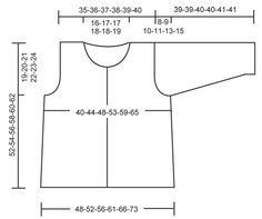 Veste DROPS en jersey en « Silke Tweed », manches 3/4 ou longues. Du S au XXXL. ~ DROPS Design---112-27---