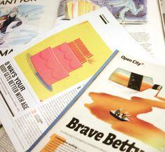 Illustrations in Magazines