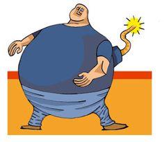 Nuestro cuerpo habla.: TU CINTURA HABLA. Es ella una bomba de tiempo??