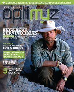 Survivorman Les Stroud on the cover of the September/October 2011 Adventure Issue
