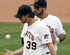 - Jason Grilli gives up a go-ahead homer in the eighth to shoulder the loss for the second straight day. Bucs swept by the Cubs. Nuff said. Pittsburgh Hockey, Pittsburgh Pirates, Pittsburgh Penguins, Cubs, Letting Go, Two By Two, Baseball Cards, Shoulder, Sports