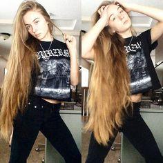 Metalhead girl @ star_666_