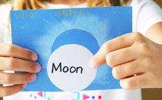 Solar Eclipse Craft for Kids via @booksandgiggles