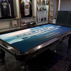 Custom Pool Table Felt For ColdTub