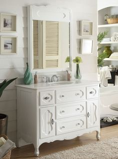 48u201d victorian cottage style knoxville bathroom sink vanity model gd1522w48bs