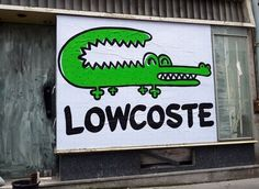 Lacoste polos now on sale, LMAO Geeks, Sign O' The Times, All Jokes, Lacoste Polo, Street Smart, Humor Grafico, Advertising Design, Some Fun, Best Funny Pictures