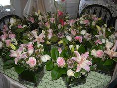 Wedding Centerpieces from 77 Blossom Shop #weddings #flowers #florist #massachusetts